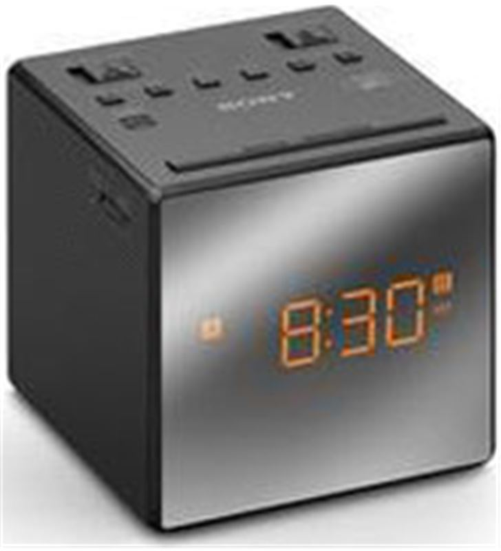 Sony ICFC1TB radio reloj .ced 2 alarmas negro son Radio Radio/CD - ICFC1TB