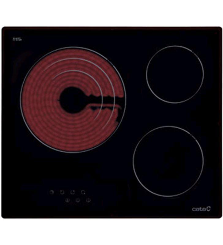 Placa vitro Cata tt603 3fuegos 60cm 08063007 Vitrocerámicas - 08063007