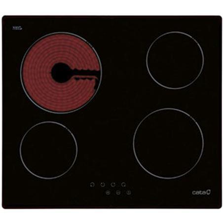 Placa vitro Cata t604 4 fuegos 60cm 08052206