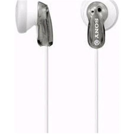 Auriculares boton Sony mdre9lphorizontal ae gris MDRE9LPHAE