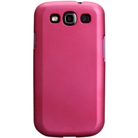 Case-mate funda post rigida rosa samsung galaxy s3 cmbtg3pi