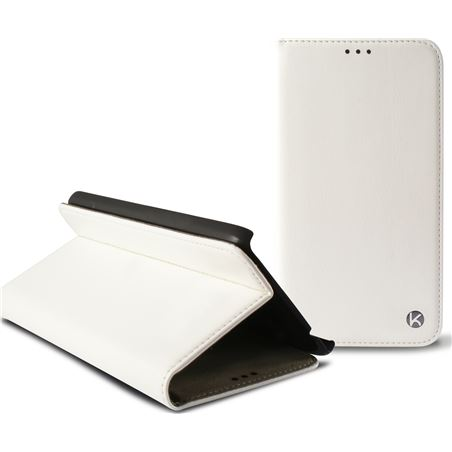 Funda folio Ksix iphone 6 407'' standing blanca B0925FU20B