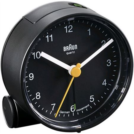 Reloj despertador Braun bnn001bkbk classico negr BNC001BKBK