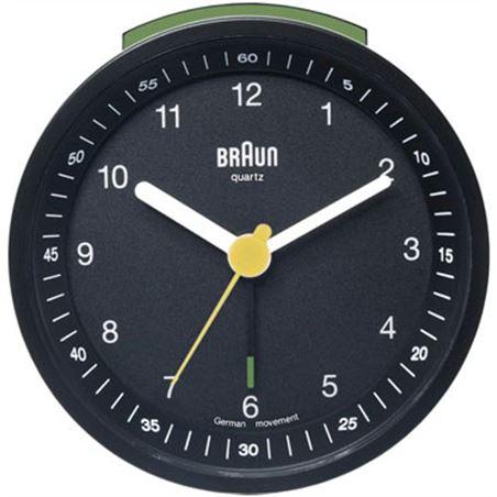 Reloj despertador Braun bnc007bkbk classico neg
