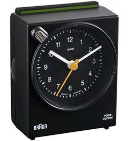 Reloj despertador Braun BNC004BKBK classico neg - BNC004BKBK