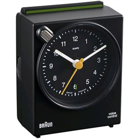 Reloj despertador Braun bnc004bkbk classico neg