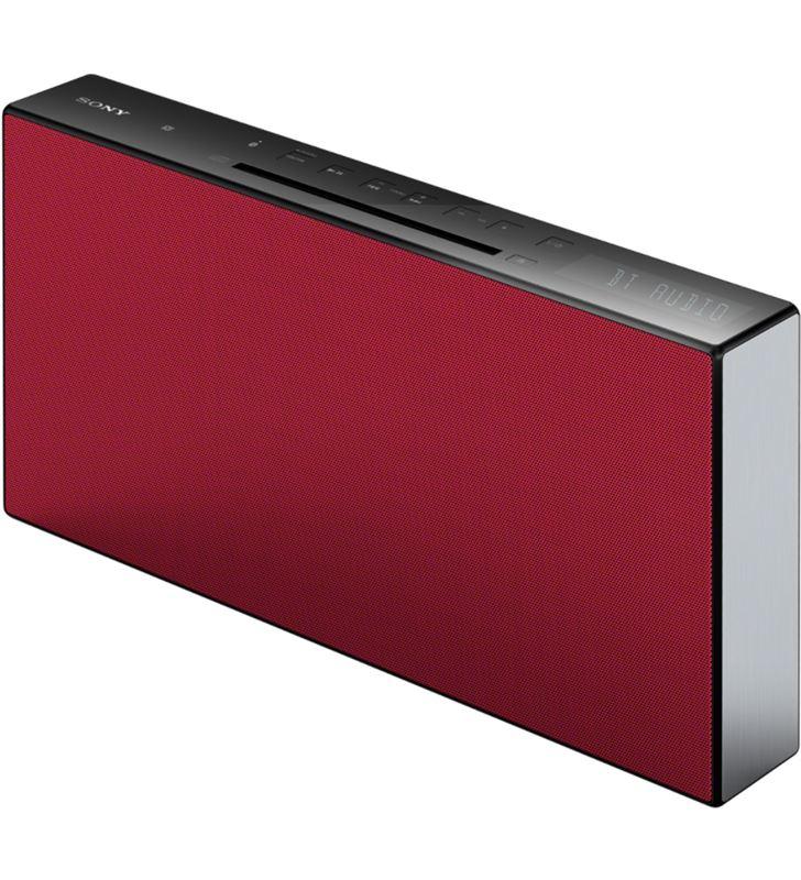 Micro cadena Sony cmt-x3cdr bluetooth®, nfc roja CMTX3CDR - CMTX3CDR