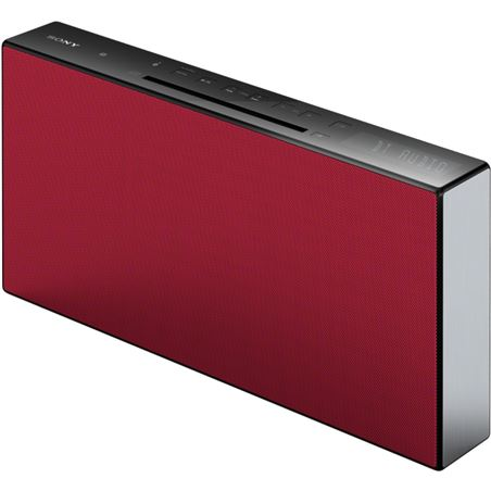 Micro cadena Sony cmt-x3cdr bluetooth®, nfc roja CMTX3CDR