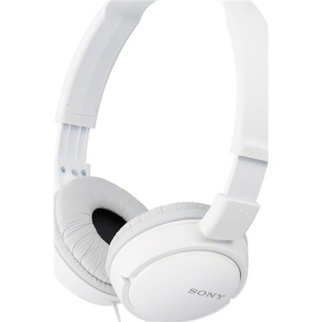 Auriculares diadema Sony mdr-zx110w 30mm blanco mdrzx110w
