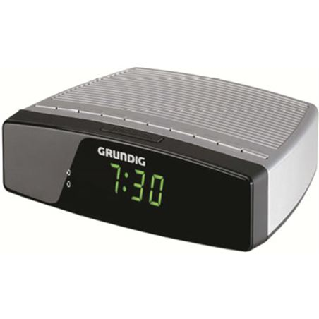 Radio reloj Grundig sonoclock 600 plata/negro GRUGKR2310