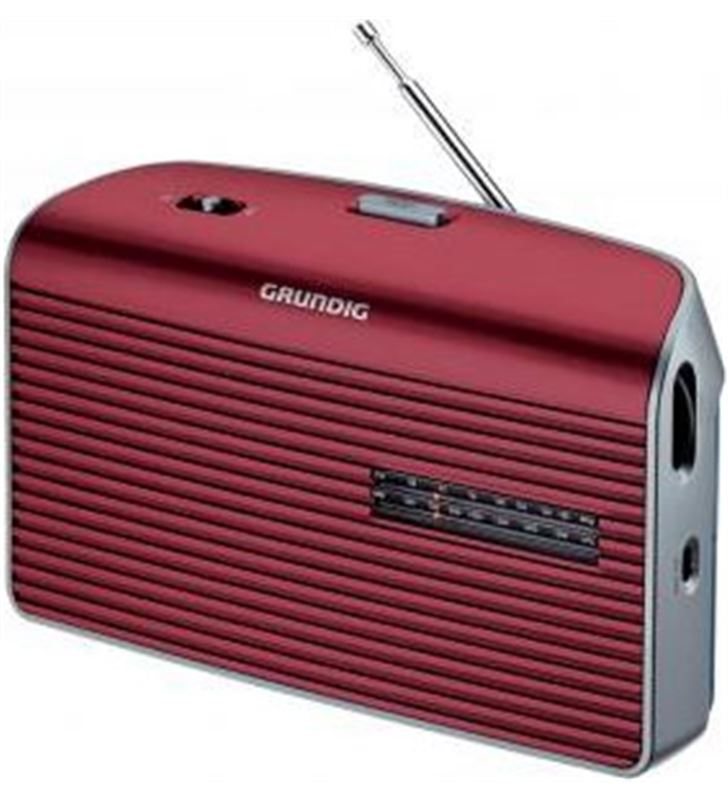 Radio portatil Grundig music60 roja (GRN1540) - GRN1540