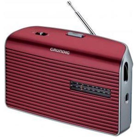 Radio portatil Grundig music60 roja (grn1540)