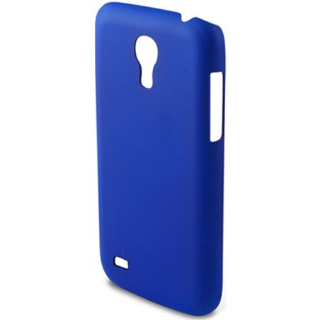 Carcasa Ksix snap on samsung galaxy s4 mini azul B8508CAR05