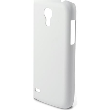 Carcasa Ksix snap on samsung galaxy s4 mini blanca B8508CAR02