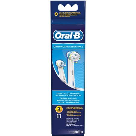 Recambio cepillo dental Braun ortho kit (3 un) ORTHOKIT