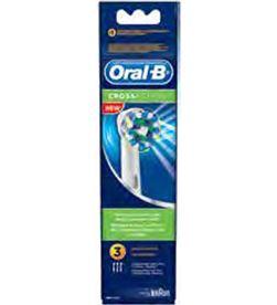 Braun EB50-3FFSCROSS recambio cepillo dental eb50-3 cross act braeb50_3 - EB50-3FFSCROSS