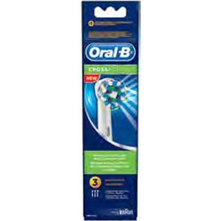 Recambio cepillo dental Braun eb50-3 cross act BRAEB50_3