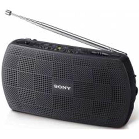 Radio portatil Sony srf18b negra (entrada mp3) SRF18BCE7