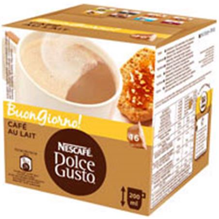 Nestle cafe dolce gusto espresso cafe con leche 12113397caixa