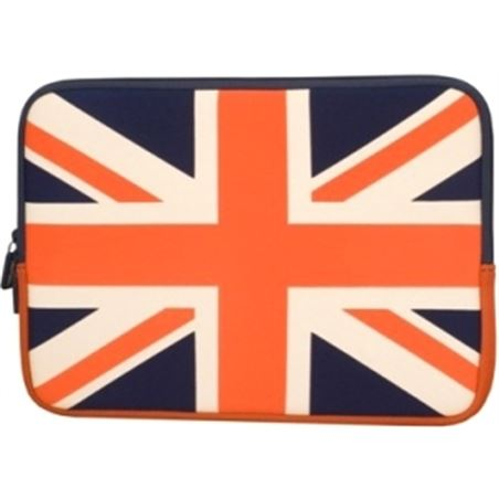 "Urban funda neopre para netbook /tablet 10"" bandera uk flg60uf"