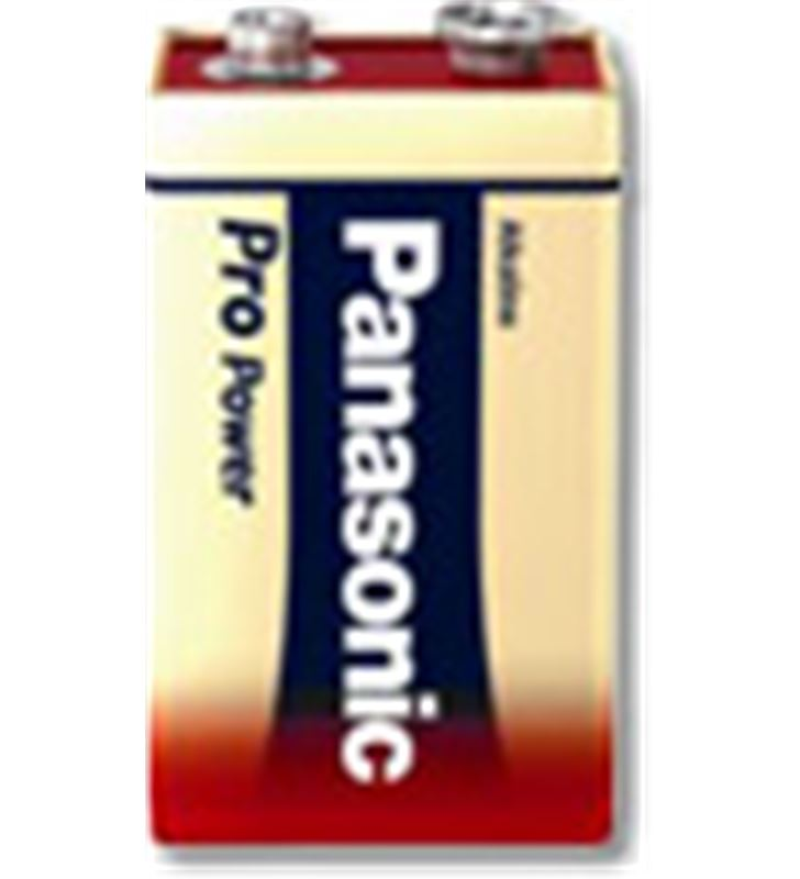 Pila alcalinas Panasonic 9v 6LR61PP/1BP ( 1-blis Ofertas - 6LR61PP1BP