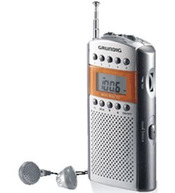 Radio portatil Grundig GRR2090 mini62 cromo/silver - GRR2090