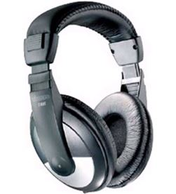 Vivanco 227246 auriculares diadema sr95 plata/negro - 227246
