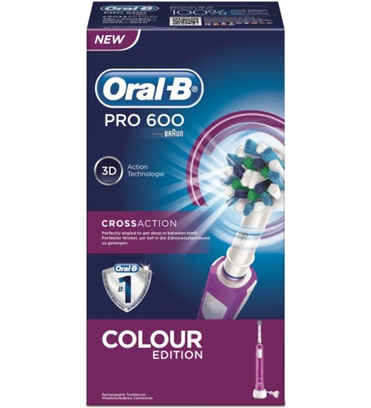 Braun PRO600CAM cepillo dental pro600 cross action morad pro600morado - PRO600CAM