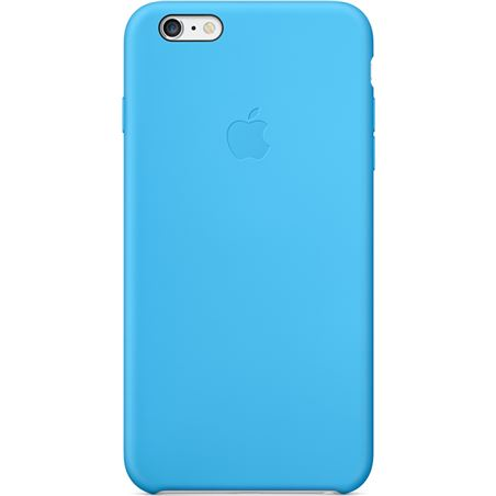 Funda Apple iphone 6 plus case silicona azul MGRH2ZM/A