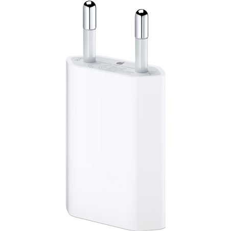 Adaptador Apple ac ipod iphone 5 w output power APMD813ZM