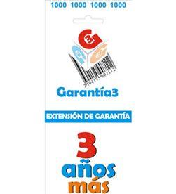 Para productos hasta 1000eur. extensión de garantía de tres años adicionales - G3ES1000
