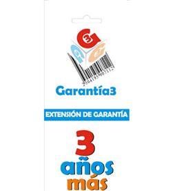 Para productos hasta 2000eur. extensión de garantía de tres años adicionales - G3ES2000