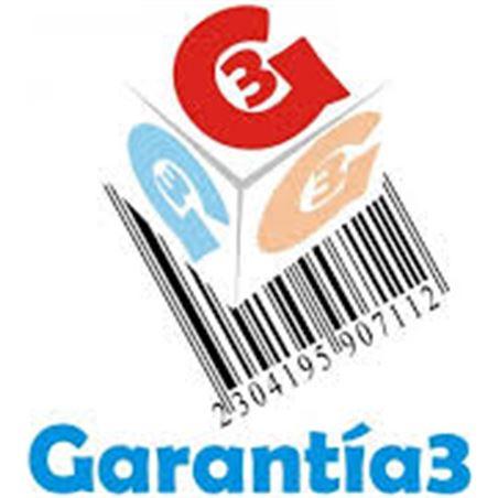 Para productos hasta 5000eur. extensión de garantía de tres años adicionales