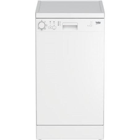 Beko lavavajillas DFS05011W media carga a+ blanco