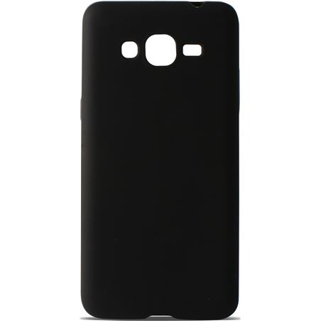 Funda flex Ksix tpu galaxy grand prime negra B8546FTP01