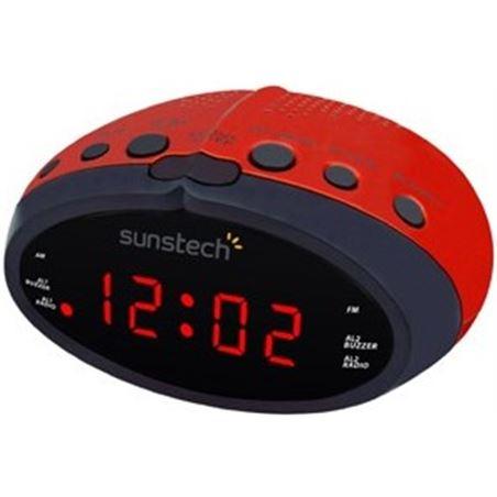 Radio despertador Sunstech FRD16RD rojo