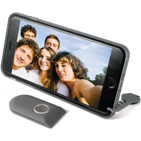 Carcasa selfie Ksix mando bluet. iphone 6 negra B0925CAS01
