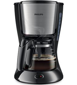 Cafetera goteo Philips HD7435/20 4-6t negra/metal Cafeteras - HD743520