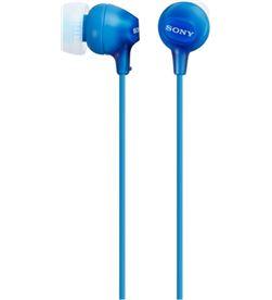 Auricular boton Sony mdrex15lpli azul MDREX15LPLIAE - MDREX15LPLI