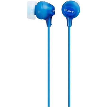 Auricular boton Sony mdrex15lpli azul MDREX15LPLIAE