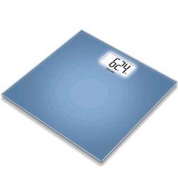 Bascula baño Beurer GS208 extraplana cristal azul Básculas - GS208