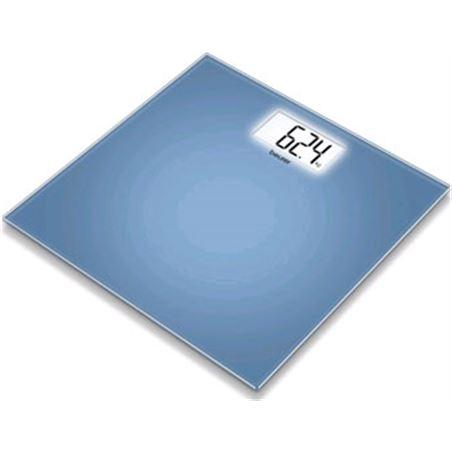 Bascula baño Beurer gs208 extraplana cristal azul
