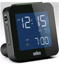 Rellotge despertador Braun BNC009BK digital negro - BNC009BK