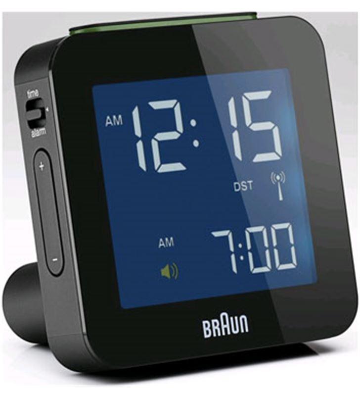 Rellotge despertador Braun BNC009BK digital negro Radio y Radio/CD - BNC009BK