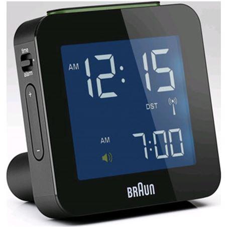 Rellotge despertador Braun BNC009BK digital negro