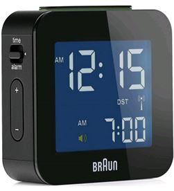 Reloj despertador Braun BNC008BK digital negro Radio y Radio/CD - BNC008BK