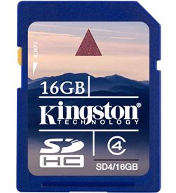 Tarjeta sd 16gb Kingston sdhc SD10G216GB - 1494356