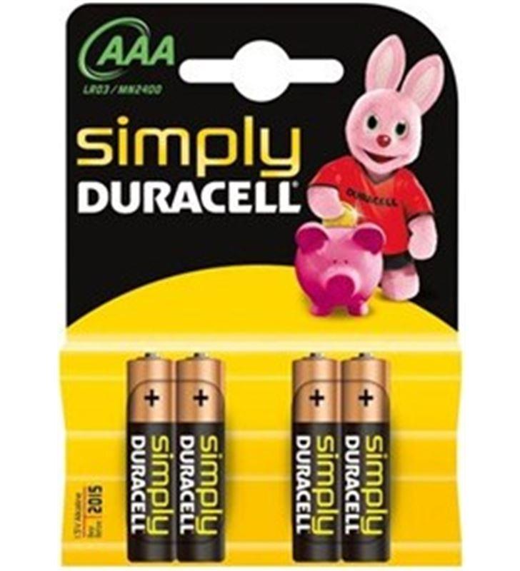 Piles Duracell aaa(lr03) simply 4kp AAAMN2400BASICB - AAA(LR03)SIMPLZ