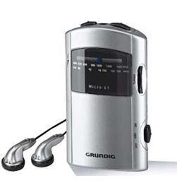 Radio bolsillo Grundig micro 61 silver/grey GRR1991 - GRR1991