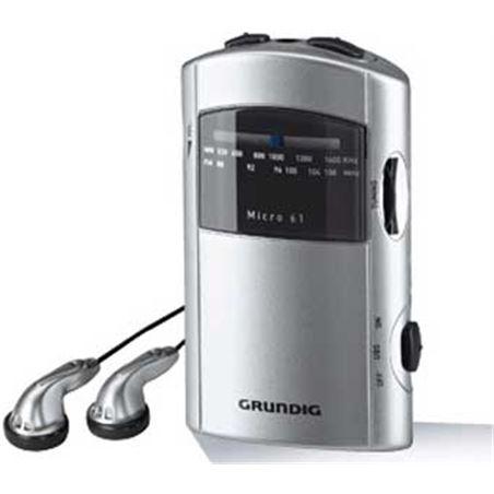 Radio bolsillo Grundig micro 61 silver/grey GRR1991